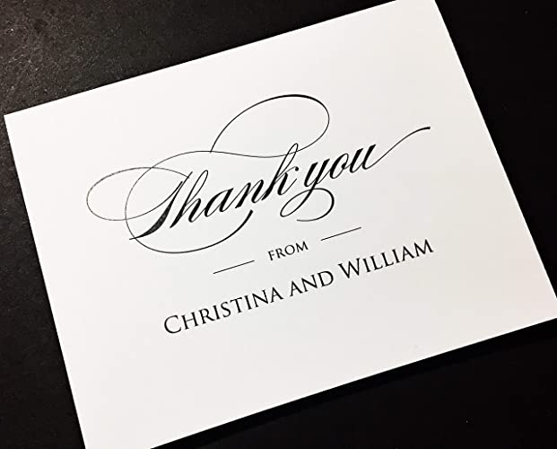 wedding thank you cards example