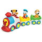 Clementoni 14361 Early Years Toy Mickey and Friends Musical Train