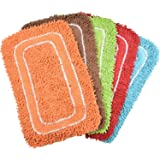 "PINDIA Fancy 2 Piece Synthetic Mat Set - 24""x16"", Assorted"