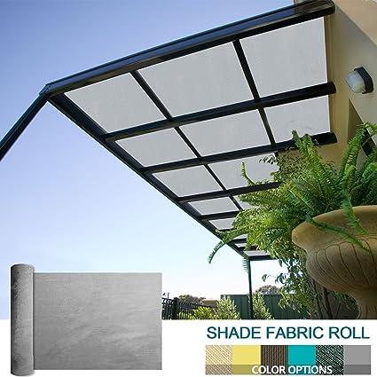 Ordinaire Coarbor 8Ft X 18Ft Shade Cloth Pergola Patio Cover Provide Shade Fabric  Roll Mesh Screen Heavy