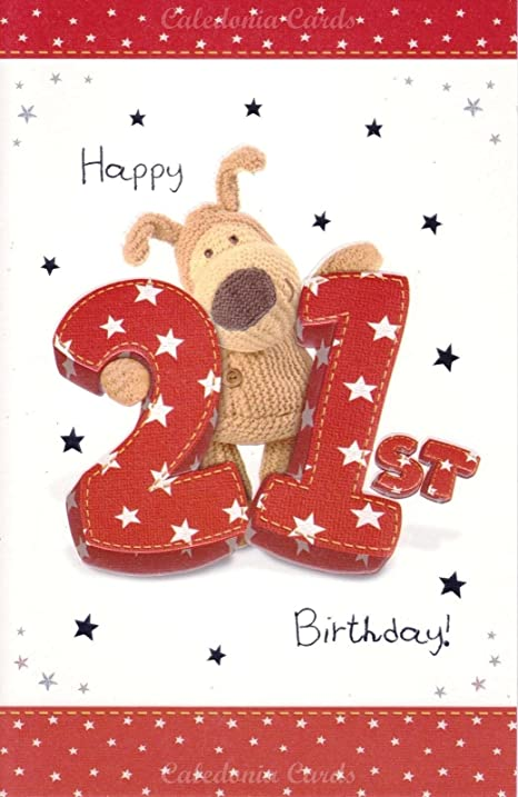 Amazon boofle brown wooly bear happy 21st birthday card 9 boofle brown wooly bear happy 21st birthday card 9 bookmarktalkfo Image collections