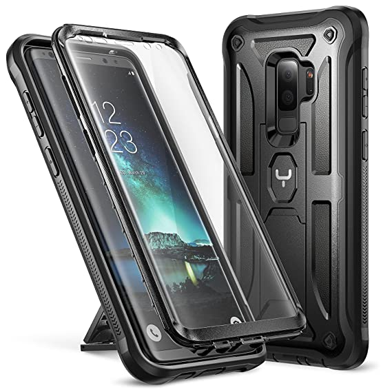 Hybrid Skin CoverHeavy Duty Double Layer Protection Shockproof Stand Case For Samsung Galaxy S9/S9+