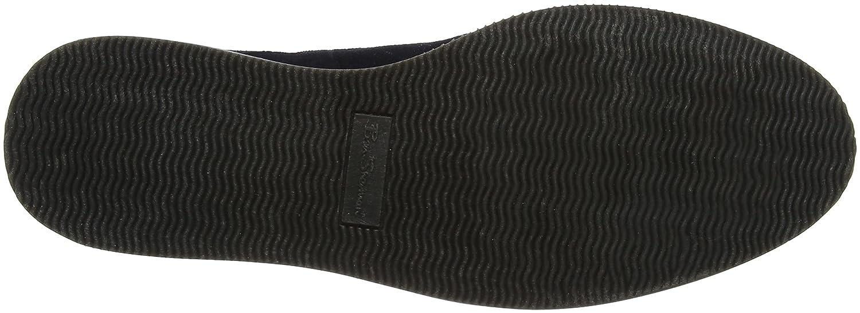 Grant, Zapatos de Cordones Derby para Hombre, Azul (Navy Suede 020), 43 EU Ben Sherman