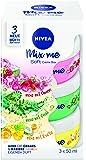 Nivea soft Crème Set, 3diverse fragranze, 3X 50ML Contenitori, Mix & Match, confezione da (5X 3pezzi)