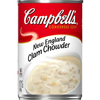 CAMPBELL'S 10.5oz New England Clam Chowder