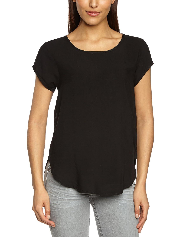 VERO MODA Damen T-Shirt Boca Ss Blouse Noos, Einfarbig 10104030