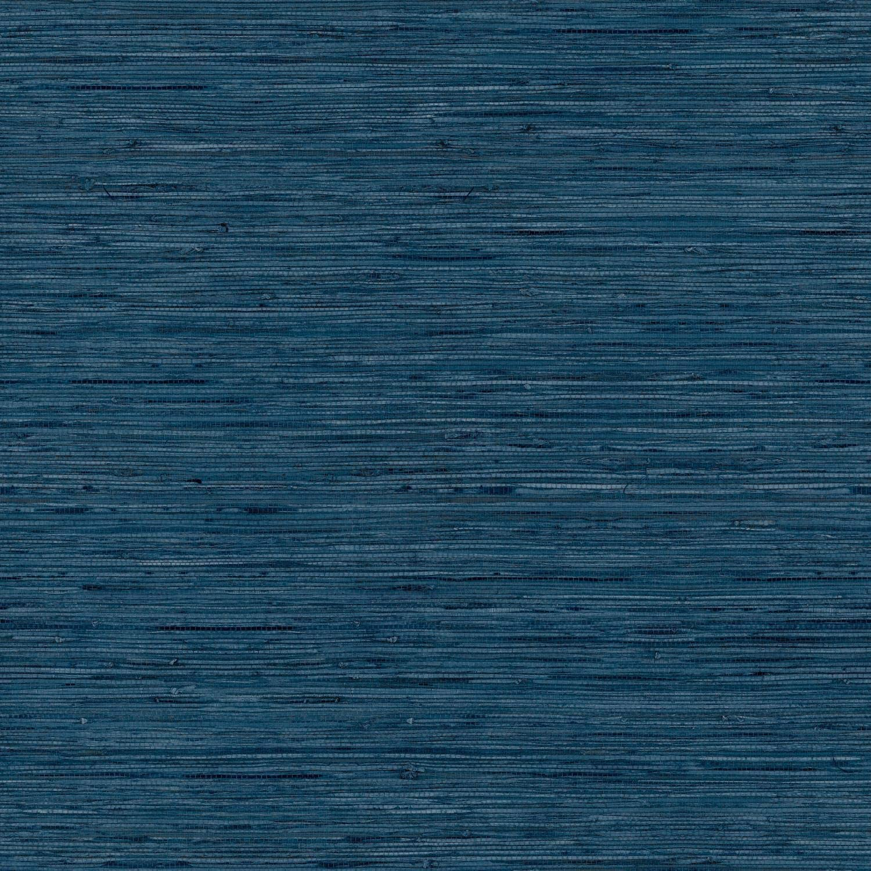 Blue Grasscloth Peel And Stick Wallpaper   Brengsek Wall