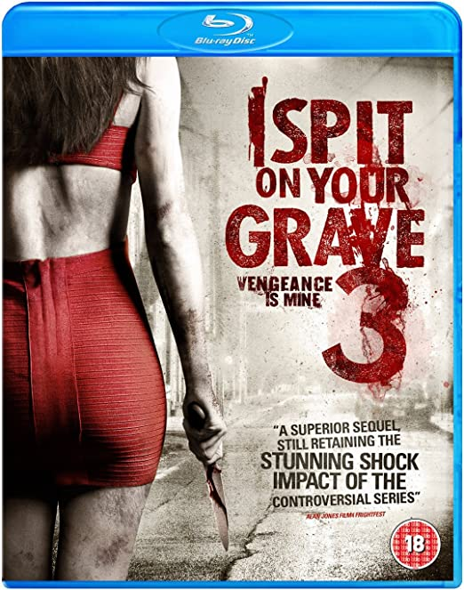 I Spit On Your Grave 3 Blu Ray Amazon Co Uk Sarah Butler Doug Mckeon Jennifer Landon R D Braunstein Richard Schenkman Sarah Butler Doug Mckeon Dvd Blu Ray