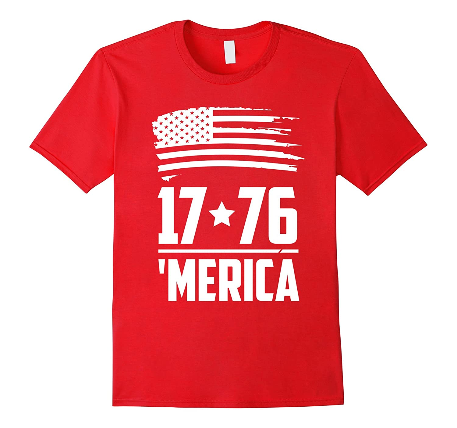 USA Patriotic 4th of July Independence Day Merica T-Shirt-PL