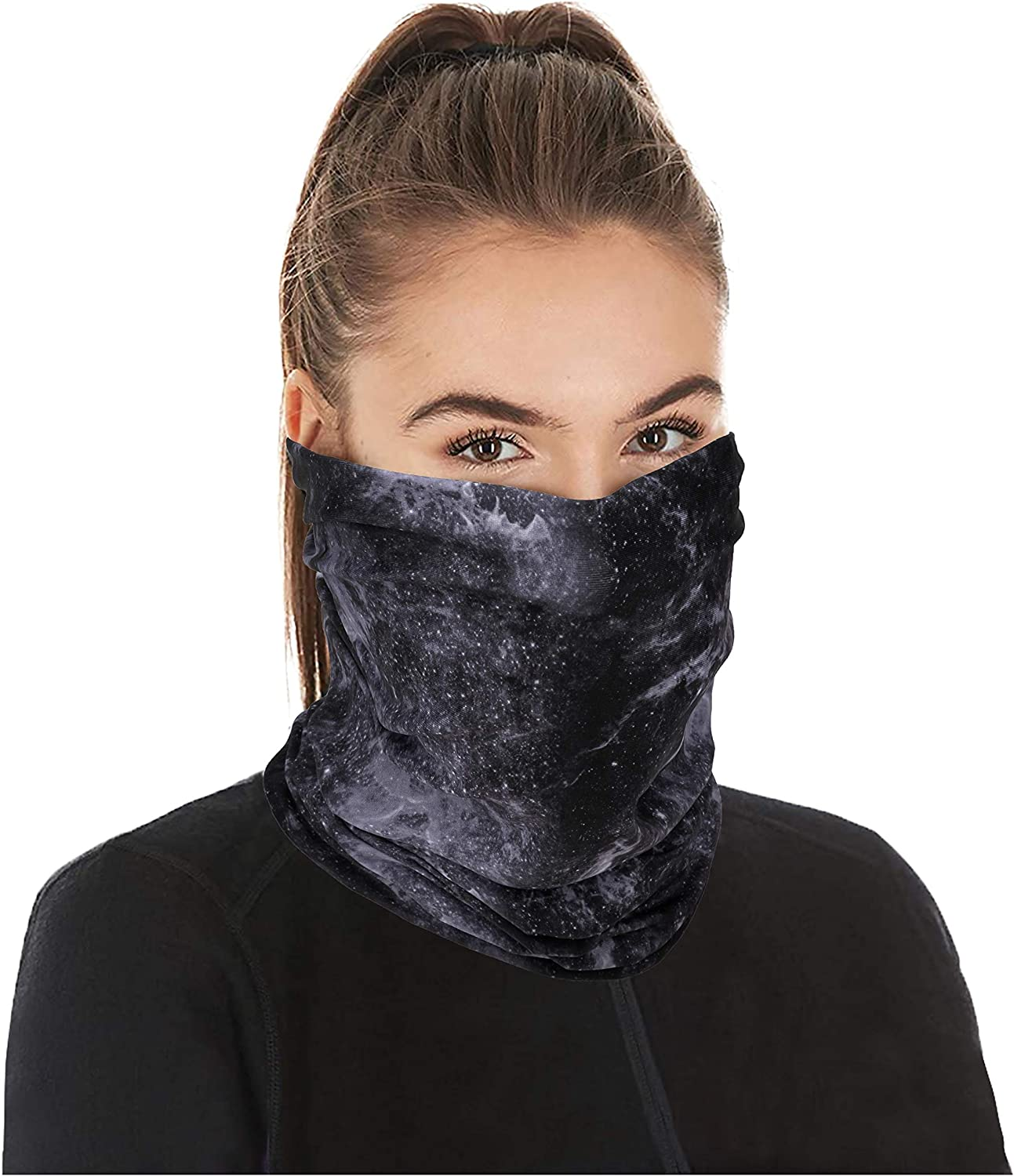 Neck Gaiters Cooling Bandana Face Scarf Women - Balaclava Mask Mouth Cover Stretchable Men Head Wear Outdoor Hunting Dust UV