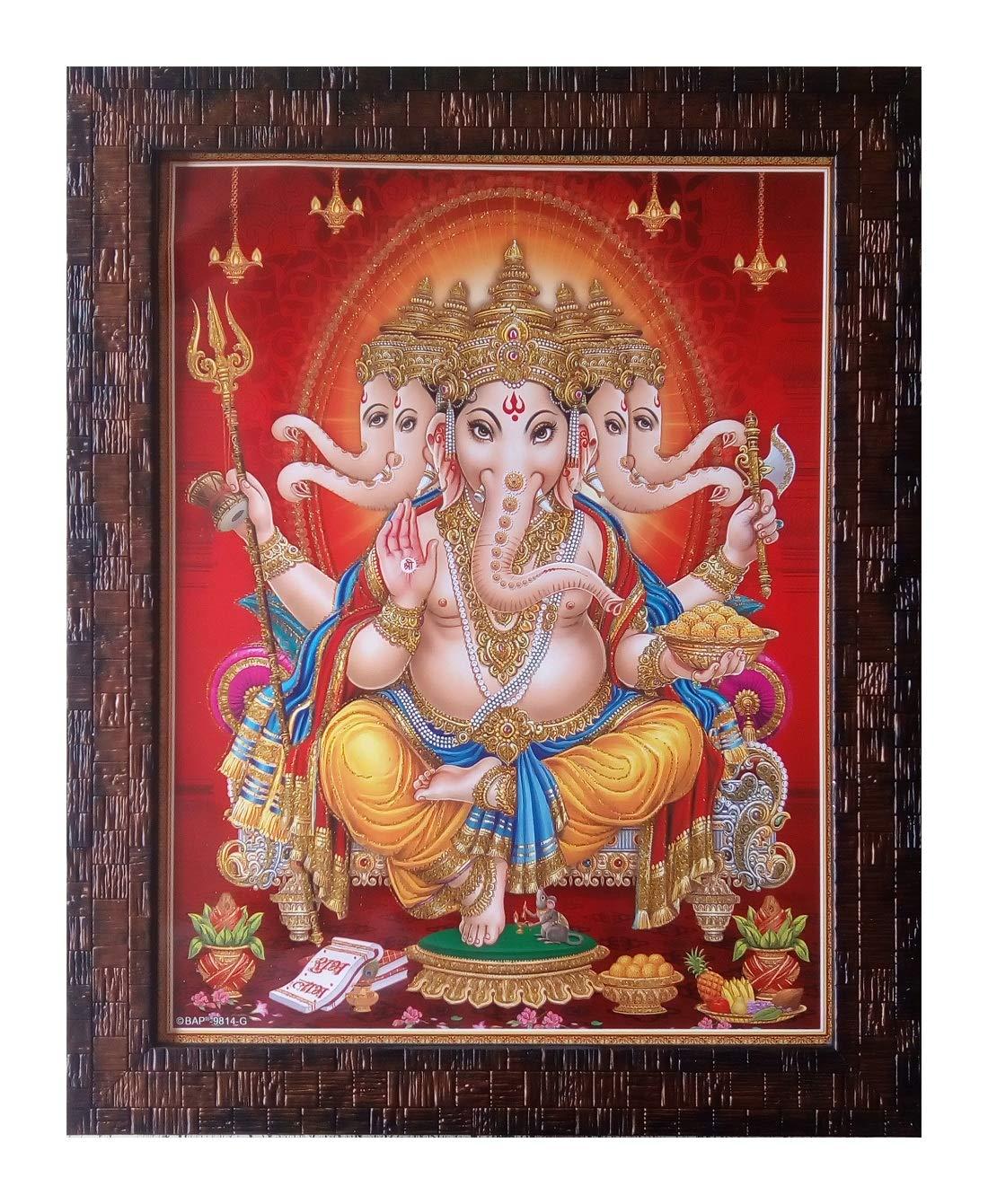 Shree Handicraft Panchmukhi Ganesh ...