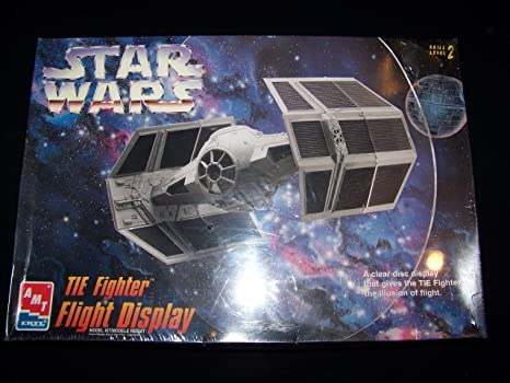 AMT #8275 ERTL Star Wars TIE Fighter Flight Display Plastic Model Kit,Needs  Assembly