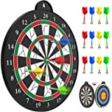 STREET WALK Magnetic Dart Board - 12pcs Magnetic Dart - Excellent Indoor Game and Party Games - Safe Magnetic Dart Board…
