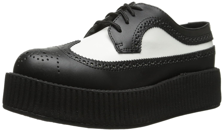 pretty nice fcc0b 2a51e T.U.K. scarpe Uomo nero bianca Leather Wingtip Viva High ...