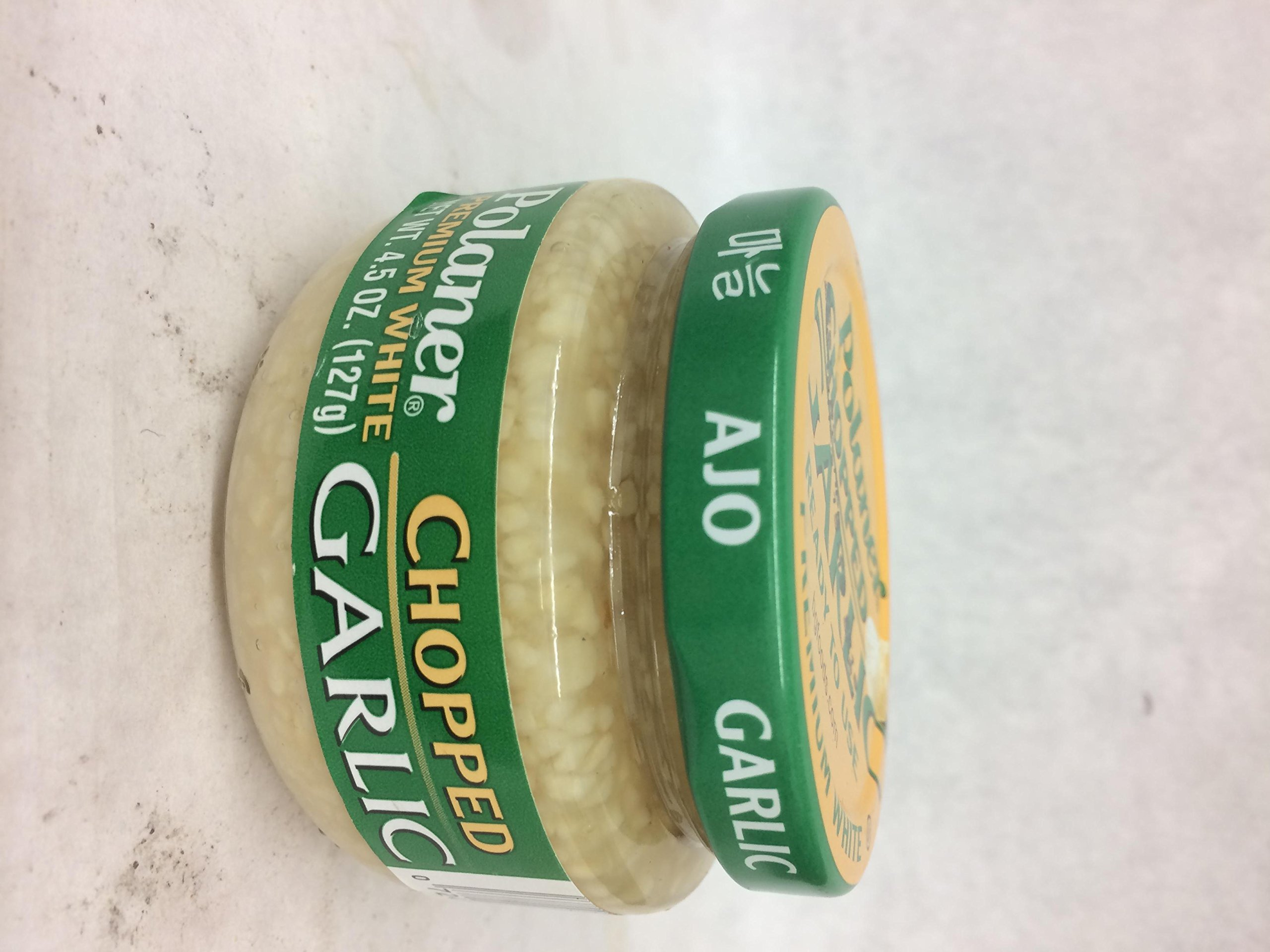 Polaner Chopped Garlic 4.5 Oz. Pk Of 3.