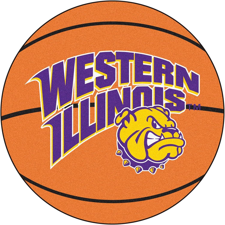 Amazon Com Fanmats Sports Team Logo Western Illinois University Basketball Mat Sports Fan Area Rugs Clothing