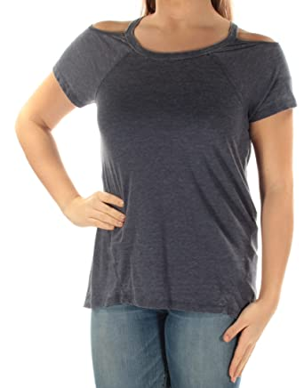 7165ce51cb9634 Amazon.com  Tommy Hilfiger Sport Womens Cold Shoulder T-shirt  Clothing