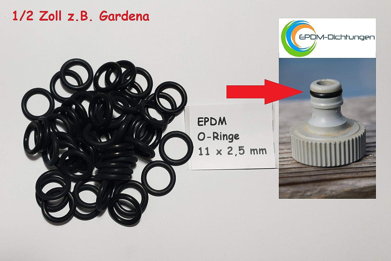 Menge 25 Stück Dichtring O-Ring 5 x 2,5 mm EPDM 70
