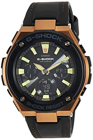 Casio G-Shock Analog-Digital Black Dial Men's Watch - G735 (GST-S120L-1ADR) Men at amazon