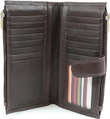 London Leather - Cartera para mujer de Piel mujer