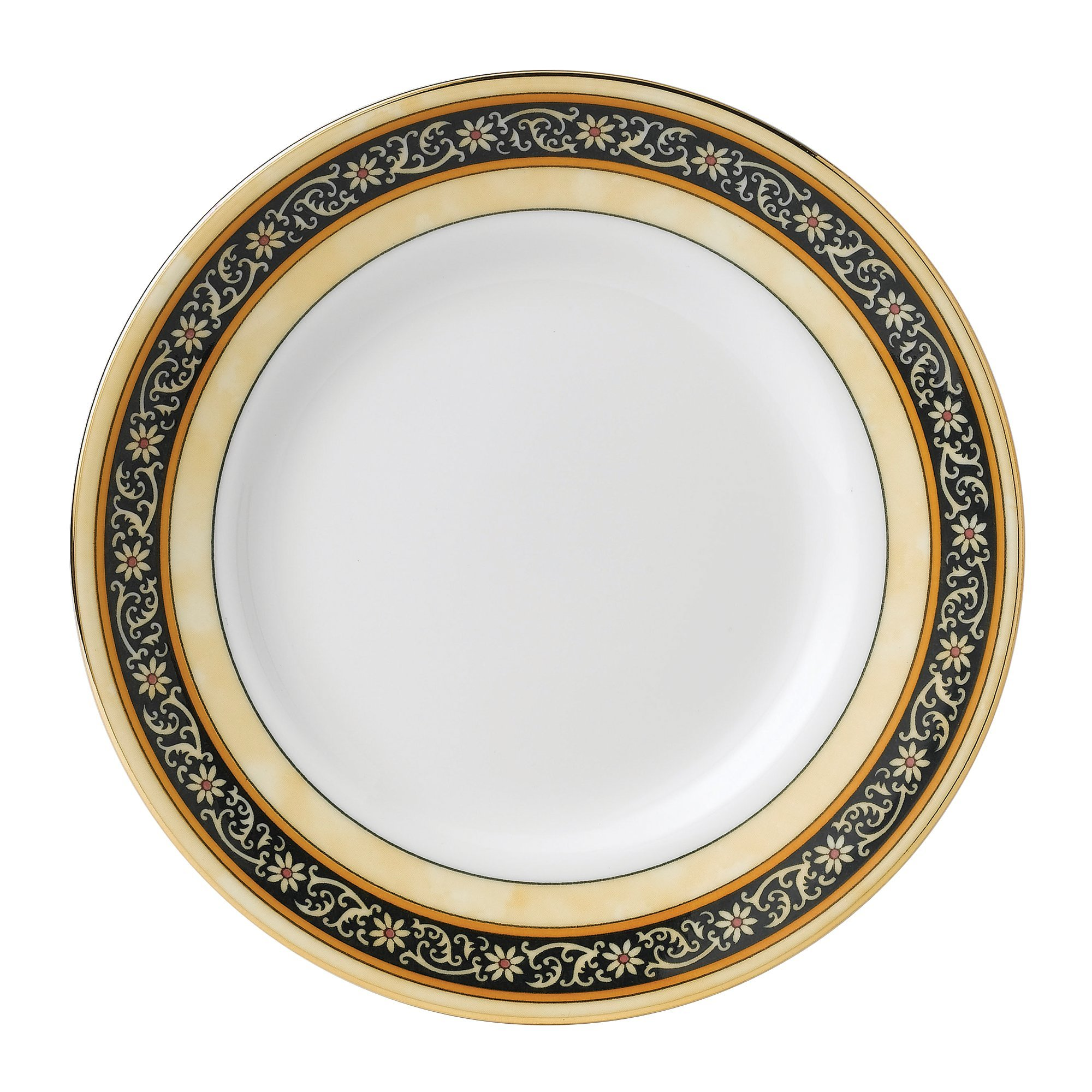 Wedgwood India Bread and Butter Plate, 6'', Multicolor