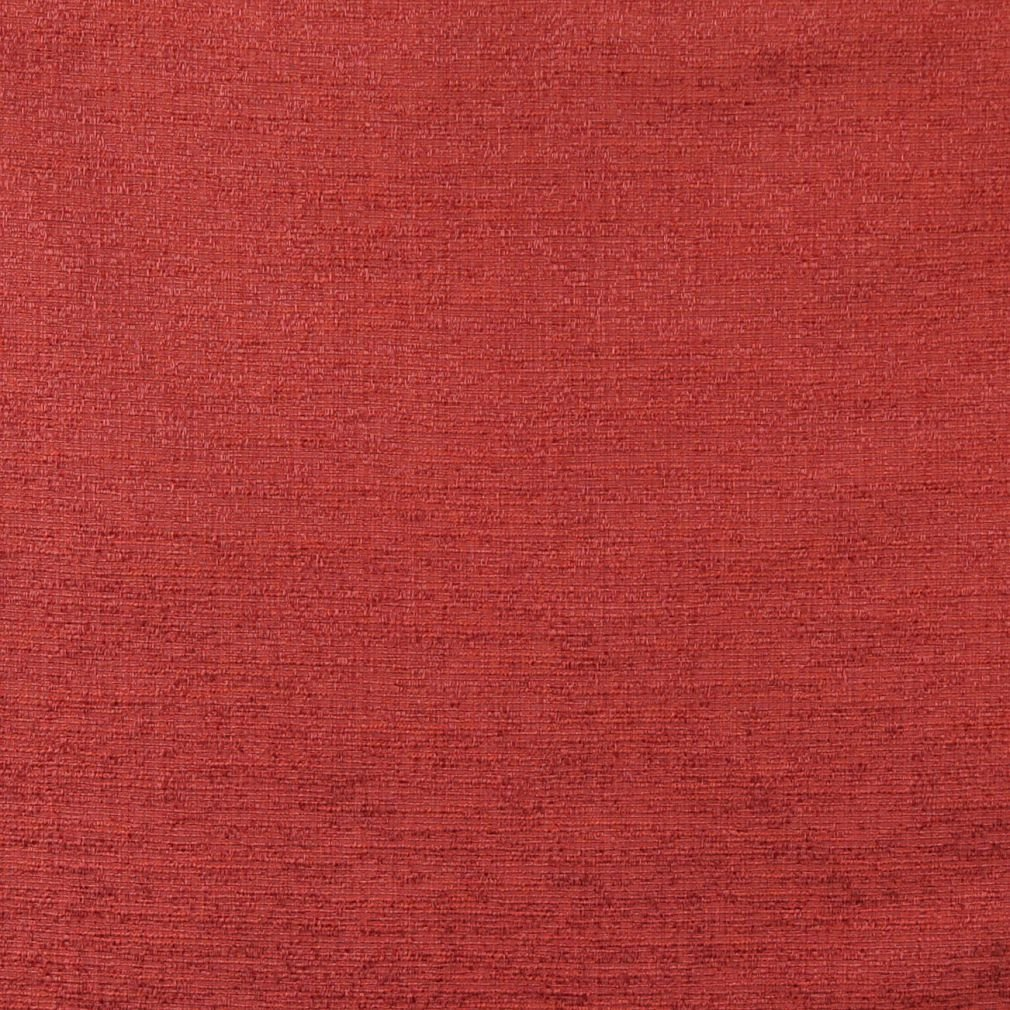 C132 Spice Red Textured Solid Colored Jacquard Linen Look Upholstery And Window Treatment Fabric By The Yard by Discounted Designer Fabrics (Image #1)