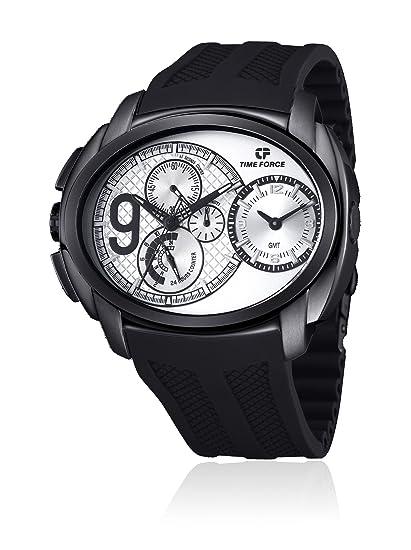 Time Force Reloj con Correa de Acero para Hombre TF3330M03: Amazon.es: Relojes