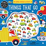 Super Sticker Activity: Things that Go