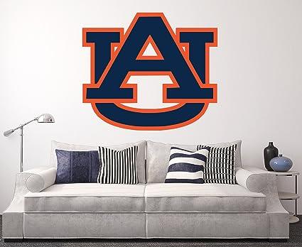 Amazon.com: Auburn Tigers Wall Decal Home Decor Art NCAA Team ...