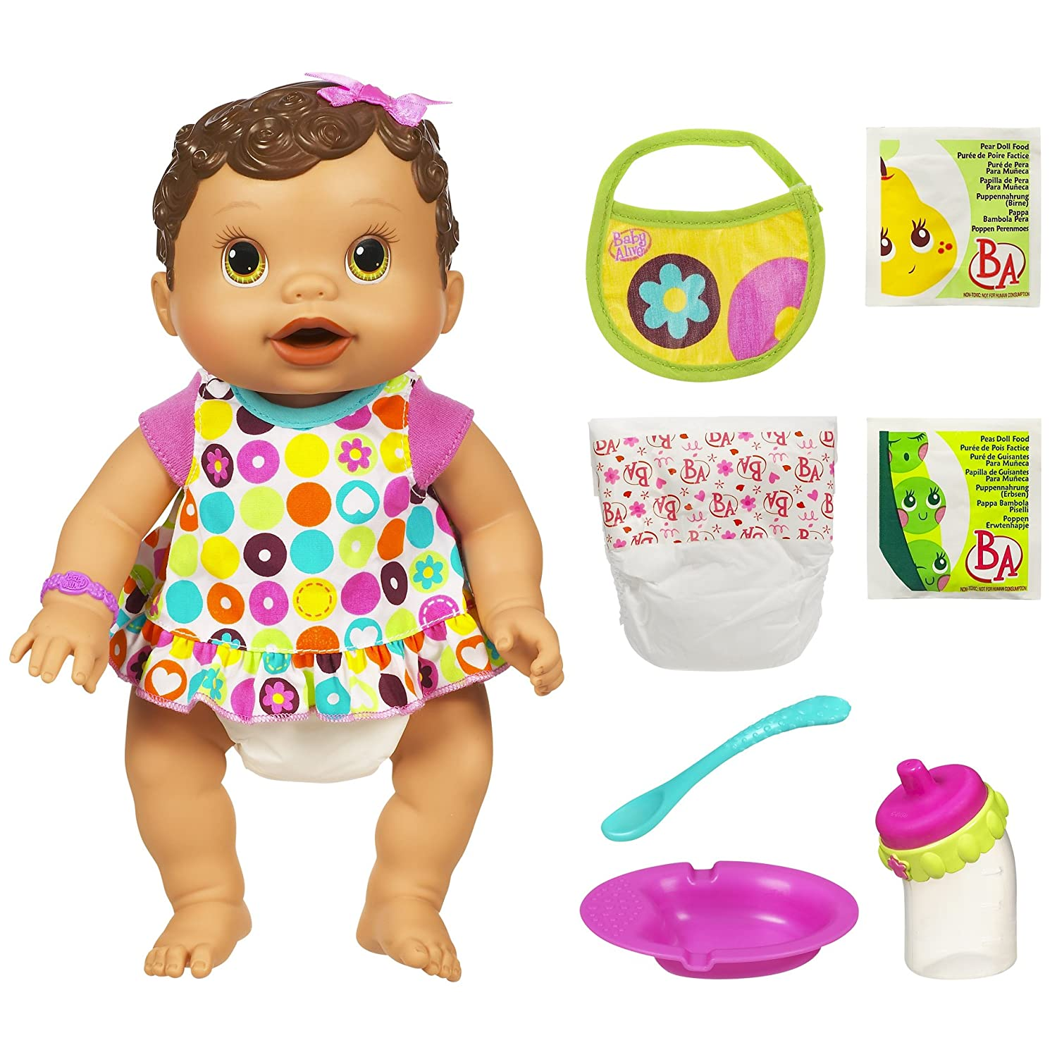 Buy Baby Alive Changing Time Baby Brunette line at Low Prices in