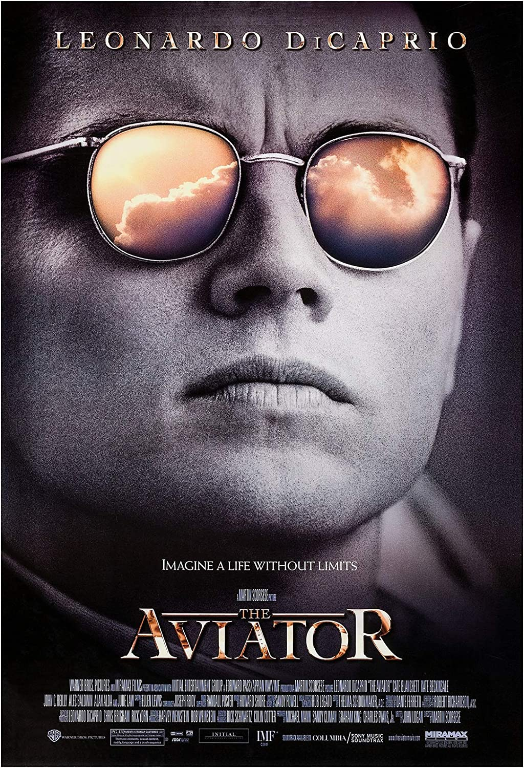 The Aviator Movie Poster 24 x 36 Inches Full Sized Print Unframed Ready for Display