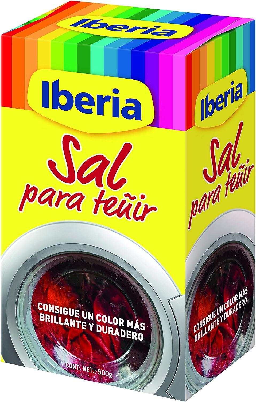 Iberia Sal Fijadora de Tinte para Ropa - 500 gr.: Amazon.es ...