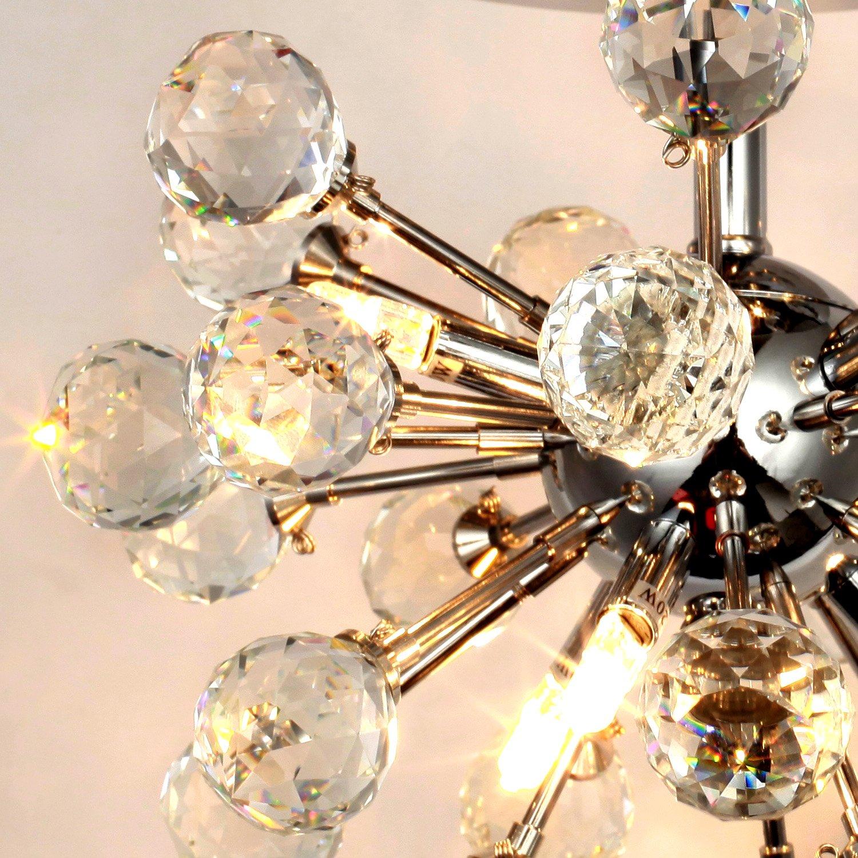 LightInTheBox Max 10W K9 Crystal Chandelier with 6 Lights in Globe
