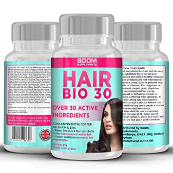 Hair Growth Tablets Vitamins Biotin S For Women Money Back