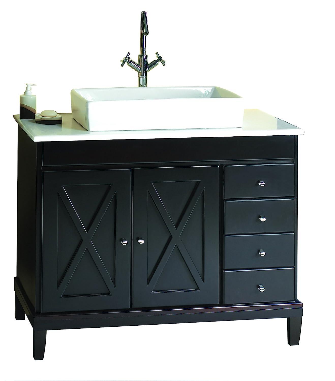 barstools vanities com style backs bathroom with sink traditional model pin amazon belleville vanity