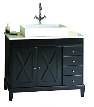 Ove Decors Aspen Vb Vanity With Marble Countertop And Rectangular