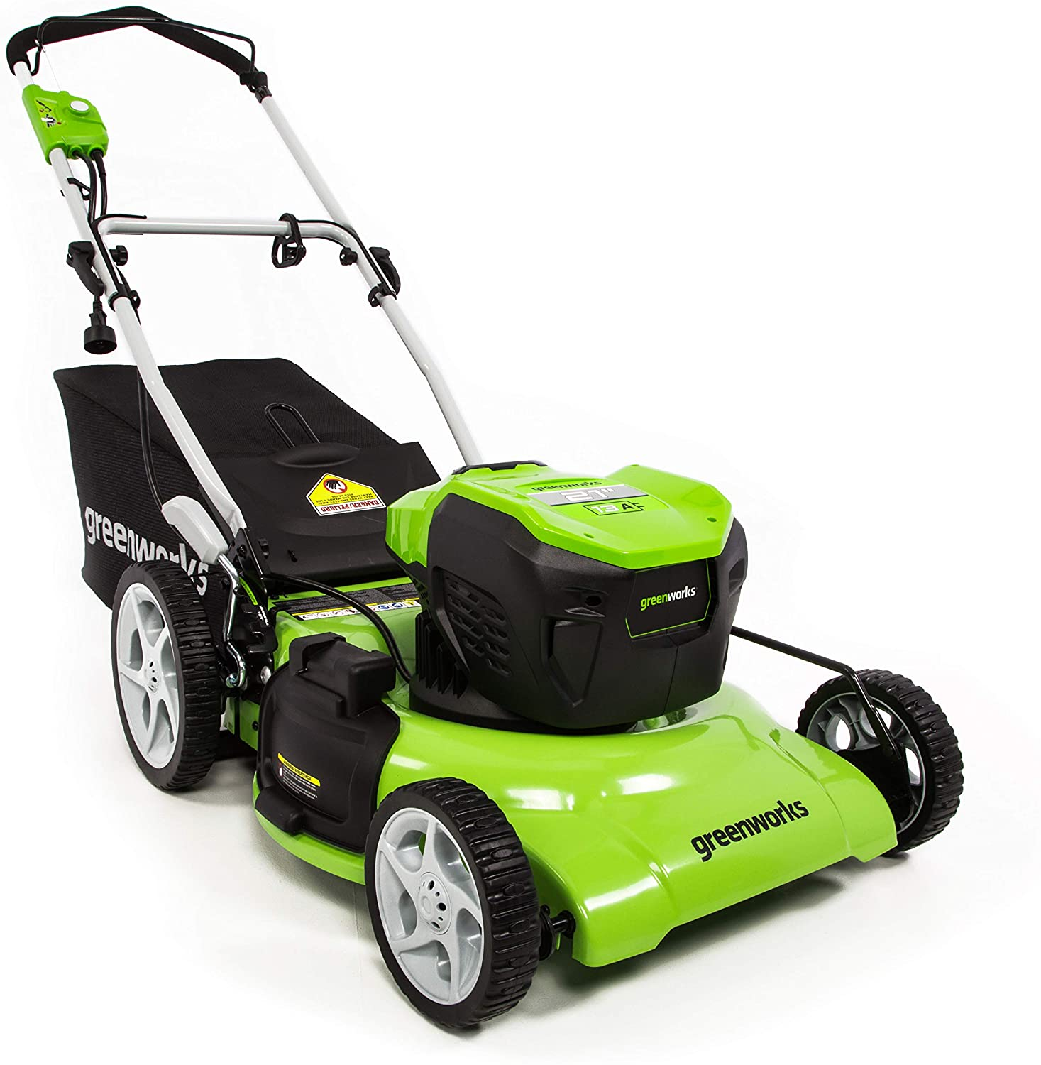 Greenworks MO13B00 Corded Electric Lawn Mower