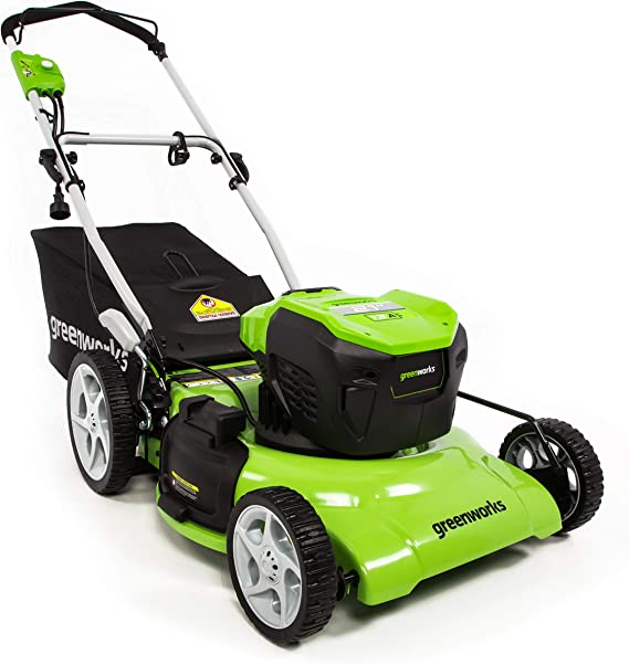 Greenworks 21-Inch 13 Amp Corded Electric Lawn Mower MO13B00