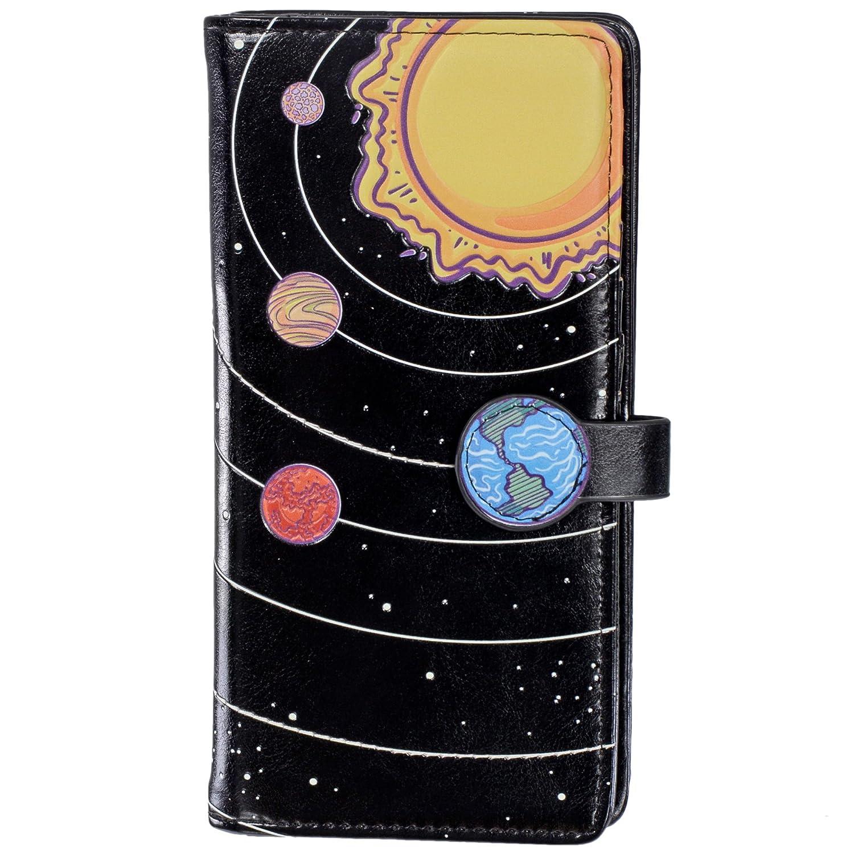 Shagwear ACCESSORY レディース B077GZZMGL L Solar System (Black) Solar System (Black) L