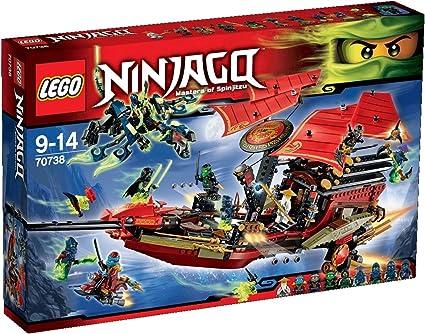 Amazon.com: LEGO 70738 Vuelo Final de Destiny s Bounty ...