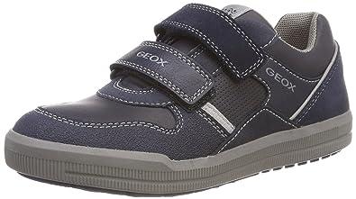 Geox J Arzach C Sneakers Basses garçon  Amazon.fr  Chaussures et Sacs 2b4302cf9c5