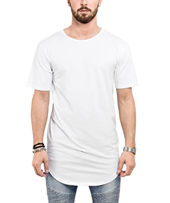 promo code 06df5 92ef7 Phoenix Oversized Longline Round T-Shirt Mens Longshirt Long Tee - Long  Shirt SML XL Elongated