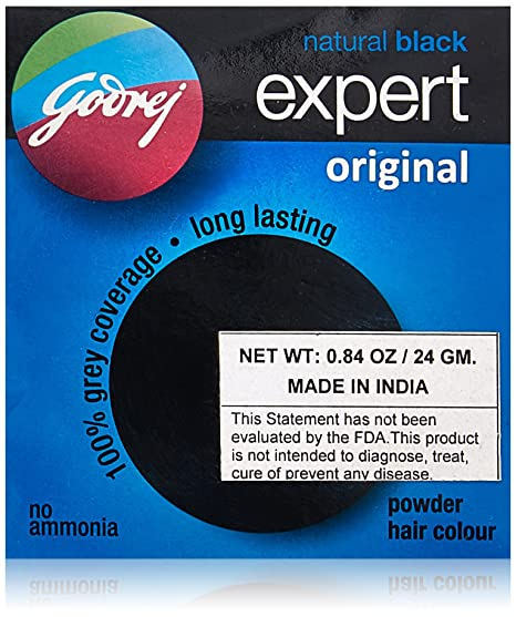 b724e2e0b39d1 Buy Godrej Expert Original Powder Hair Colour (Box of 8) Online at Low  Prices in India - Amazon.in