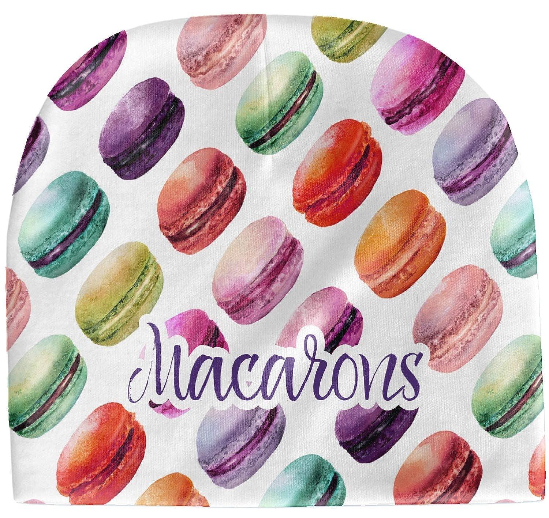 Personalized YouCustomizeIt Macarons Baby Hat Purple Beanie
