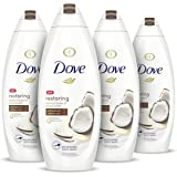 Dove Body Wash 100% Gentle Cleansers, Sulfate Free Restoring Coconut and Cocoa Butter Paraben Free and Sulfate Free…