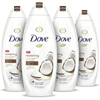 Dove Purely Pampering Body Wash for Dry Skin Coconut Butter and Cocoa Butter Effectively Washes Away Bacteria While…