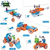 STEM Building Toys Kit For Age 7 8 9 10 Year Old Boys & Girls, (5 in 1) Educational Construction Learning Toys For Kids, DIY