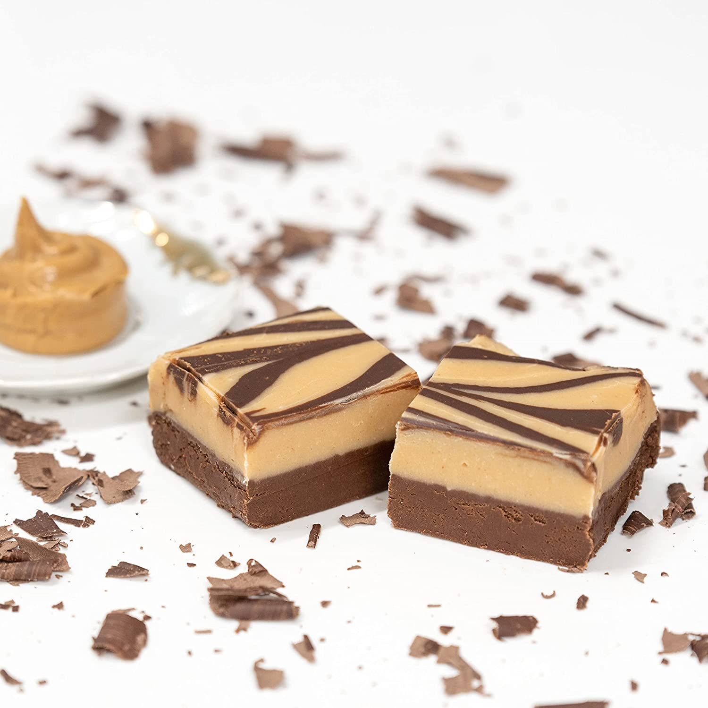 Valley Fudge Peanut Butter Chocolate, Half Pound Package