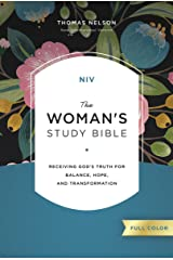 NIV, The Woman's Study Bible, Full-Color, Ebook: Receiving God's Truth for Balance, Hope, and Transformation Kindle Edition