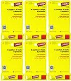 Carmex Original Lip Balm Sunscreen Stick SPF 15, 0.15 Oz (Pack of 6)